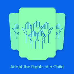 Adopt The Rights of a Child logo